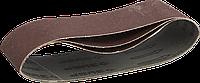 ЗУБР 75х457 мм, P180, лента шлифовальная МАСТЕР, для ЛШМ, 3 шт.