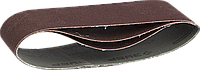 ЗУБР 75х533 мм, P150, лента шлифовальная МАСТЕР, для ЛШМ, 3 шт.