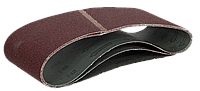 ЗУБР 100х610 мм, P40, лента шлифовальная МАСТЕР, для ЛШМ, 3 шт.