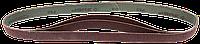 ЗУБР 25х762 мм, P60, лента шлифовальная МАСТЕР, для станка ЗШС-330, 3 шт.