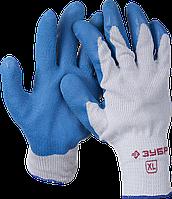 ЗУБР СУПЕРПРОЧНЫЕ, размер XL, рельефные особопрочные противоскользящие перчатки