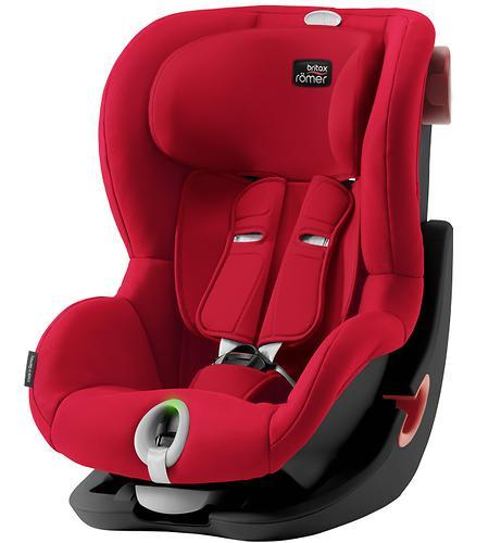 Автокресло Britax Römer King II LS Black Series Fire Red Trendline