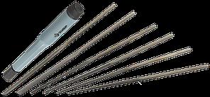 ЗУБР Мастер набор надфилей 6 шт 140 мм, в чехле, цанговая ручка