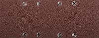 """Лист шлифовальный ЗУБР """"Мастер"""", 8 отверстий, для ПШМ на зажимах, Р60, 93х230мм, 5шт"""