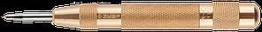 """Кернер ЗУБР """"ЭКСПЕРТ"""" автоматич,усиленный,износостойкий наконечник из Cr-Mo стали группы А,59HRC,длина"""