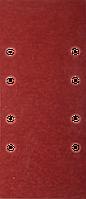 """Лист шлифовальный ЗУБР """"Мастер"""", 8 отверстий, для ПШМ на зажимах, Р1000, 93х230мм, 5шт"""