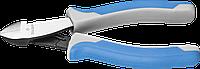 """Бокорезы ЗУБР """"Профессионал"""", хромоникелевая сталь, двухкомпонентная рукоятка, рез заподлицо, 115мм"""