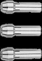 Мини-набор ЗУБР: Цанги хром, 3,2мм-1шт, 2,4мм-1шт, 1,6мм-1шт