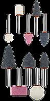 """Набор ЗУБР """"Мастер"""": Абразивные минишарошки-насадки для гравера и дрели, хвостовик d 3,2мм, d 6мм"""