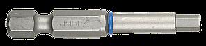 """Биты ЗУБР """"ЭКСПЕРТ"""" торсионные кованые, обточенные, хромомолибденовая сталь, тип хвостовика E 1/4"""", HEX4,"""