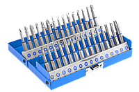 Набор ЗУБР: Биты со специальными профилями, обточенные, хромомолибденовая сталь, 50 мм, 30 предметов