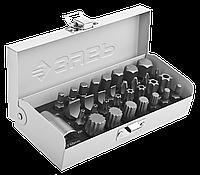 Набор ЗУБР: Биты специальные в металлическом боксе, PH, SL, HEX, TORX, SPLINE, 32 предмета