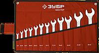 Набор рожковых гаечных ключей 12 шт, 6 - 32 мм, ЗУБР, фото 1