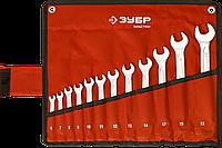 Набор комбинированных гаечных ключей 12 шт, 6 - 22 мм, ЗУБР, фото 1