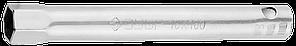 """Ключ свечной ЗУБР """"Мастер"""" трубчатый, торцовый с резинкой, 160мм, 16мм"""