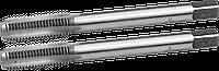 ЗУБР М8x1.25мм, комплект метчиков, сталь 9ХС, ручные, 4-28006-08-1.25-H2