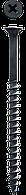 Саморезы СГД гипсокартон-дерево, 75 х 4.2 мм, 100 шт, фосфатированные, ЗУБР Профессионал