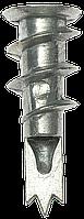 Дюбель металлический со сверлом, для гипсокартона, 4-301285, 33 мм, 50 шт, ЗУБР