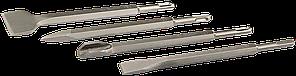ЗУБР SDS-plus Набор зубил 250 мм, 4 шт