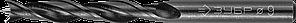 ЗУБР d 9x115/70мм, спиральное сверло по дереву , М-образная заточка