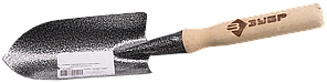 Совок ЗУБР садовый классический с деревянной ручкой