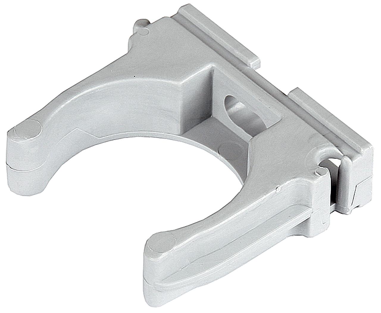 Клипса полипропиленовая, для металлопластиковых труб, 32 мм, 50 шт, ЗУБР
