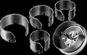 ЗУБР 5шт(60-95/32мм), пила сегментная наборная по дереву, 5 полотен: 60-67-74-83-95x32 мм, ЗУБР