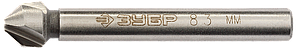 ЗУБР d 8,3x50мм, Зенкер конусный, для раззенковки М4