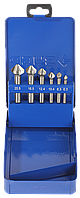 ЗУБР 6 шт(М3-М10) набор зенкеров