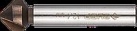 ЗУБР d 12.4x56мм, Зенкер конусный, кобальтовое покрытие, для раззенковки М6