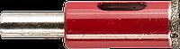 Сверло алмазное трубчатое по кафелю и стеклу, d=14 мм, зерно Р 60, ЗУБР Профессионал 29850-14