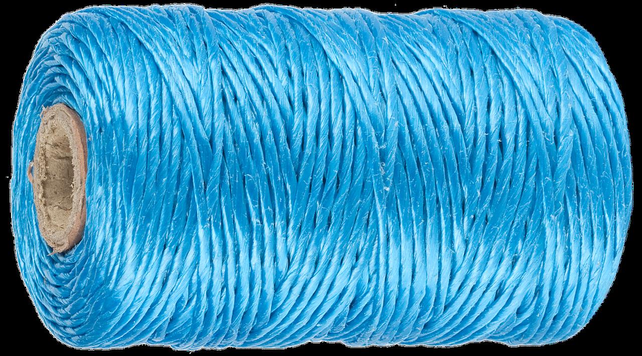 Шпагат ЗУБР многоцелевой полипропиленовый, синий, d=1,8 мм, 110 м, 50 кгс, 1,2 ктекс