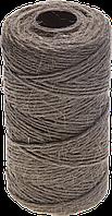 Шпагат ЗУБР джутовый, 4-ниточный, d=1,2 мм, 90 м, 24 кгс, 1,12 ктекс