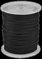 Шнур ЗУБР полиамидный, плетеный, повышенной нагрузки, без сердечника, черный, d 5, катушка 700м