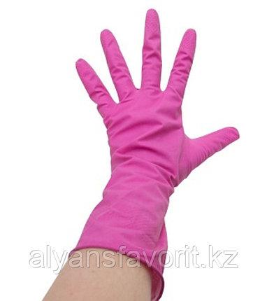 Перчатки резиновые хозяйственные, фото 2