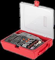 Гравер ЗУБР электрический с набором мини-насадок в кейсе, 176 предметов                                       , фото 1