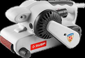 Машина ленточная шлифовальная, ЗУБР ЗЛШМ-76-950, лента 76x533 мм, скорость ленты 360 м/мин, 950 Вт
