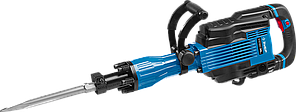 """Молоток отбойный """"Бетонолом"""", ЗУБР Профессионал ЗМ-35-1600 ВК, HEX30, 35 Дж, 15 кг, 1300 уд/мин, 1600 Вт, АВТ,"""