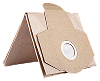 Мешок бумажный, ЗУБР ЗМБ, для пылесосов ЗППУ-1400-20, ЗППУ-1400-30, одноразовый, 5шт