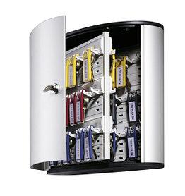 Шкафчик для 54 ключей, настенный, серебристый металлик Durable