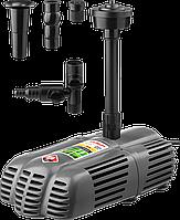 Насос фонтанный, ЗУБР ЗНФГ-33-2.5, для грязной воды, напор 2,5 м, насадки: колокольчик, гейзер, каскад, 50 Вт,