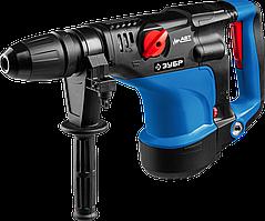 Перфоратор SDS-Max, ЗУБР Профессионал ЗПМ-40-1100 ЭК, 0-500 об/мин, 0-2800 уд/мин, 12 Дж, 7 кг, 1100 Вт, кейс