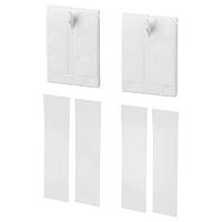 Самоклеящийся крючок для рамки АЛЬФТА белый ИКЕА, IKEA