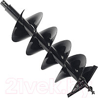 D 300 B PATRIOT Шнек двухзаходный для грунта к бензобуру со сменными ножами, диаметр 300х800мм