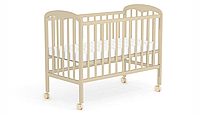 """Фея Кровать детская Фея """"323"""", (бежевый), массив березы, опускающая стенка, 2 положения ложа,"""