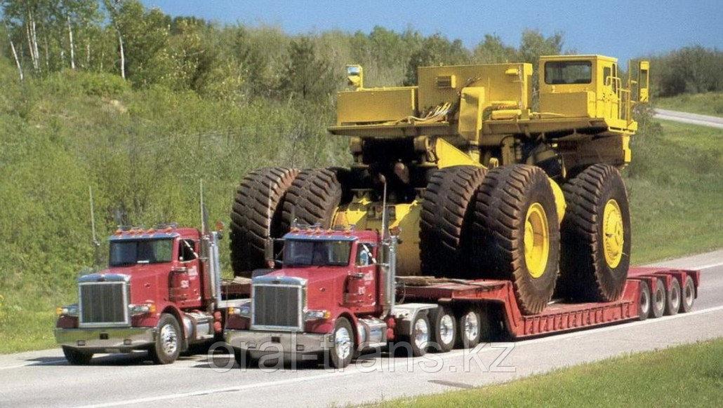 Перевозка тяжеловесных и негабаритных грузов