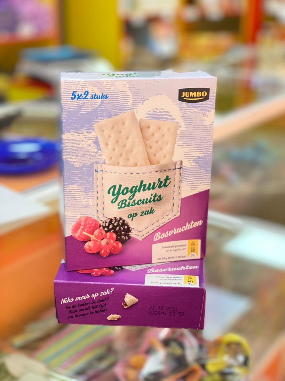 Печенье бисквит JUMBO 182гр