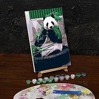 Роспись по холсту Панда 20*30