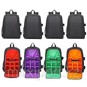 Фото видео рюкзак с отсеком для ноутбука (большой 43см), фото 2