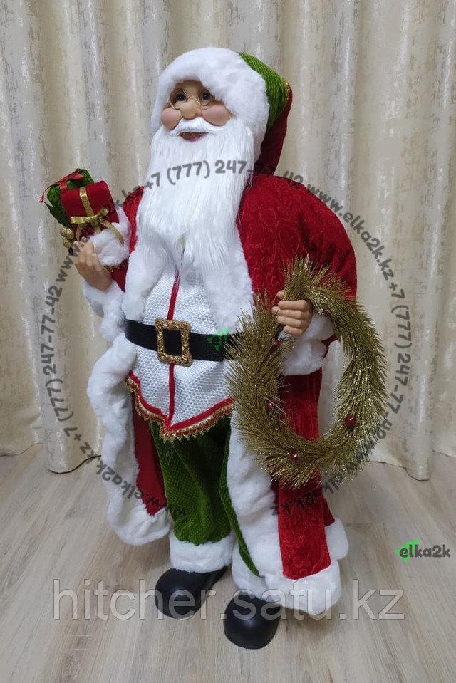 """Премиум новогодняя фигура """"Дед мороз"""" 95 см"""